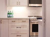 {HOME} White Open Kitchens