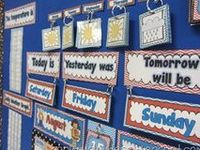 Διάφορα ημερολόγια που μπορούν να χρησιμοποιηθούν σε σχολική τάξη (εβδομάδας , μηνών , χρόνου κά)
