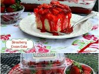 Strawberry Delights / Refreshing Strawberry Deserts & Ideas That Will Melt In your Mouth