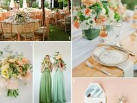 Wedding - Color inspiration, mood board