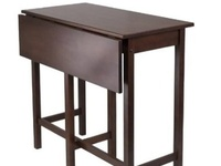 1000 images about kitchen tables for small spaces on for Tall dining tables small spaces