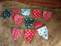 Festive pinnies / All original hand made festive pinnies