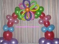 Various Styles of Balloon Arches