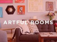 We've scoured the design blogosphere to bring you our favorite artful rooms! Once you find a room you'd love to recreate, head over to UGallery and use our decor guides to fill your home with art. www.ugallery.com