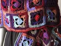 Wearable Crochet items.#hats #gloves #skirts #sweaters #shawls #cowls