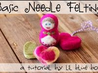 Both quilting and felting can (and will) 'needle' your fingers but both are not classed as crafts, they are ART