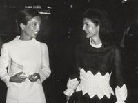 Style icons Jackie Kennedy Onassis and her sister Lee Radziwell