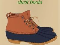 Style, Duck Boots
