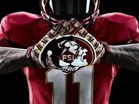 You've got to fight, fight, fight, for FSU You've got to scalp 'em Seminoles; You've got to win, win, win, win this game  And roll on down and make those goals  For FSU is on the warpath now, And at the battle's end she's great So fight, fight, fight, fight to victory, Our Seminoles from Florida State!!!