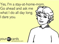 Blessed to be a stay at home mom and wife