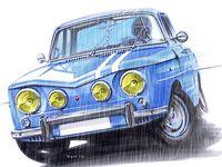 Renault 8TS...  RENAULT