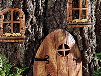 FAIRY TAILS, HOMES AND ENTRANCE