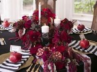 Centerpieces and Tables: Weddings
