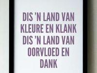 Afrikaans, my Taal