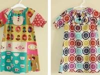 Sew Fun!! ~ Peasant Dresses