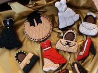 Cookies that are done with cookie cutters and decorating (I have another cookie board that are just great tasting/recipes)