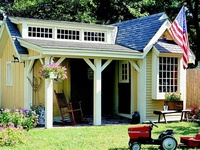 Garden Sheds, Play Houses, and Greenhouses