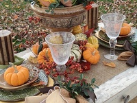 TABLESCAPES: FALL and THANKSGIVING
