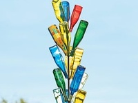 "I've always wanted a bottle tree. Maybe it's time to ""grow"" one!"