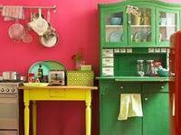 Retro, ein bisserl Instustrial und ganz wenig Vintage, aber auf jeden Falls MEINS! Colors and Inspiration for my apartment.