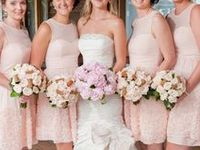 Long and short pink bridesmaid dresses to help you find the perfect dress for your bridal party.