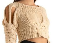 Clothes ideas and patterns. Knit, crochet and fabric. See my Knit & Crochet board too.