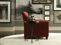 This board is a sample of the options available for your custom designed living room at Bassett Furniture.