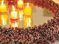 Mania on pinterest pine cones pinecone garland and pine cone wreath