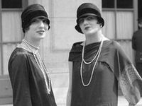 1920 s fashion on pinterest 1920s coco chanel and flappers