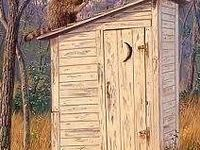 Yes, I'm old enough to have used outhouses.