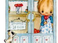 I loved Betsey Clark illustrations back in the 70s. Still do!