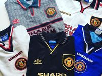 Retro vintage Manchester United shirts / We sell retro, classic football shirts! take a look at our shirts for sale, today!