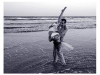 On pinterest beach engagement save the date and wedding photos