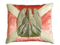 Antique Fabrics,Trims, Metallics,Tapestry Pillows, Antique Flax or Linen