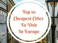 13 best Europe - Top Cheapest Cities images on Pinterest | Destinations, Places to travel and Road trip destinations