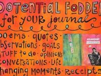 Art Journal & other types of journal examples & Instructions #artjournals #journalprompts #tutorials #smashbooks #inspiration #examples #prompts #doodles