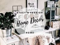 Home decor / Amazing ideas on how to decor your bedroom, living room and office with a rose gold & marble touch.