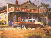 Old Gas Stations & Pumps & Signs