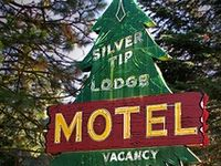 <@> Vintage Cabin Signs & Road Side Attractions <@>