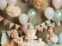 Party goodies and decorations