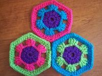 Crocheted Square Patterns