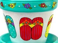 so many cute creations to make from clay pots . . . I want to try them all!! ♥❣♥