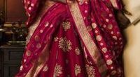 Red, Magenta and Hot Pinks Lengha Choli & Anarkali - Bridal Couture Inspiration's.... / During the 16th Century Mughal era the lengha choli were worn amongst the rich, upper-class women and royals. Those designs inspire the current generation of designers to beautifully blend ethnicity with something contemporary. The dress consists of lengha which is a long skirt, choli which is a well-fitted blouse, and to this the majestic dupatta to complete the royal look. During the time of Akbar, craftsmen used silk and brocade that would define Indian exquisiteness in its purest form.