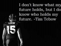 Tebow Time!!!  :)