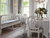 Interiors Gustavian and Scandinavian