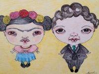 Frida Kahlo ♥ღ Diego Rivera