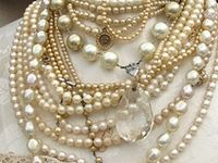 Pearls add instant class and sophistication to any outfit.