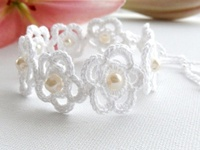 CROCHET Jewelry, Collars