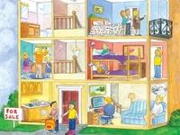 el dormitorio, dormir, poder, estar + present progressive, los quehaceres, la casa
