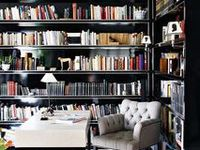 Essentially rooms with a lot of books